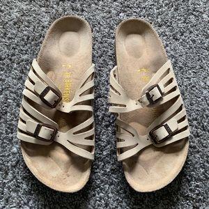 Birkenstock Sandals Women's 8 Tan